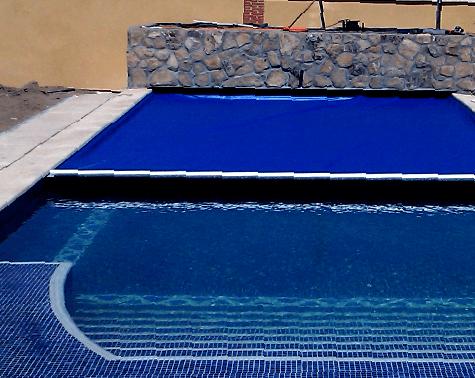 Projet réalisé pour les piscines Benchmount Toptrack