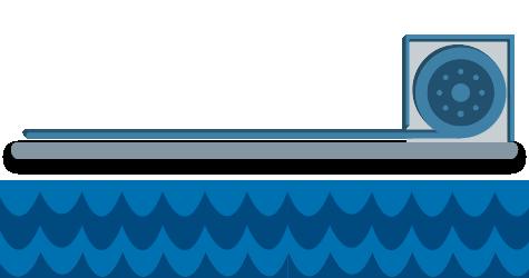 Esquema de cubierta de piscina automática para cualquier tipo de piscina