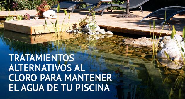 Tratamientos alternativos al cloro para mantener el agua de tu piscina