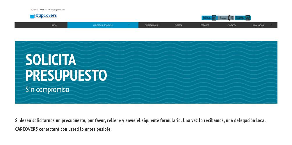 Te presentamos nuestro nuevo formulario web